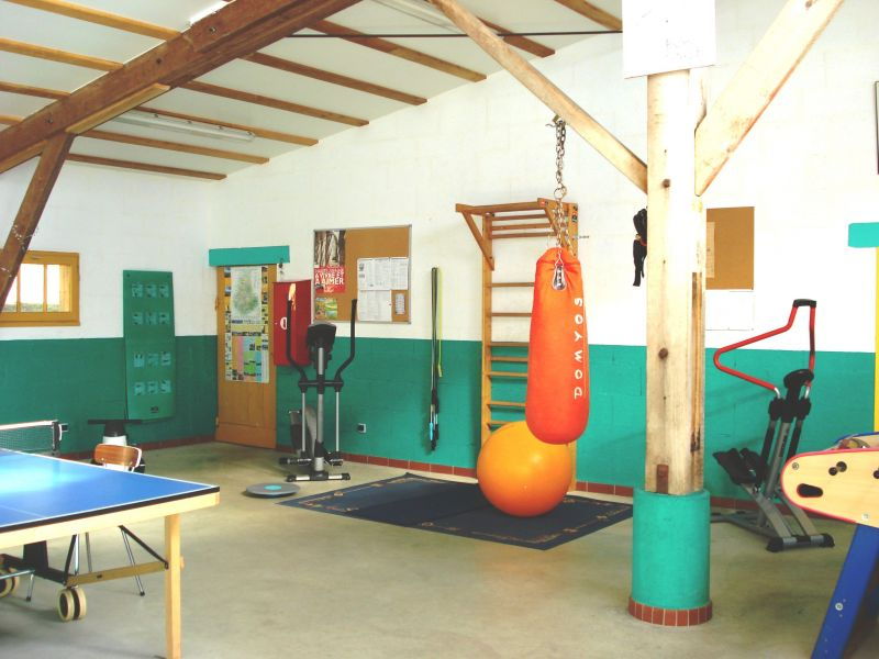 Fitness room Location Self-catering property 117039 Rochechouart