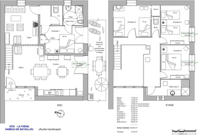 Property map Location Self-catering property 117039 Rochechouart