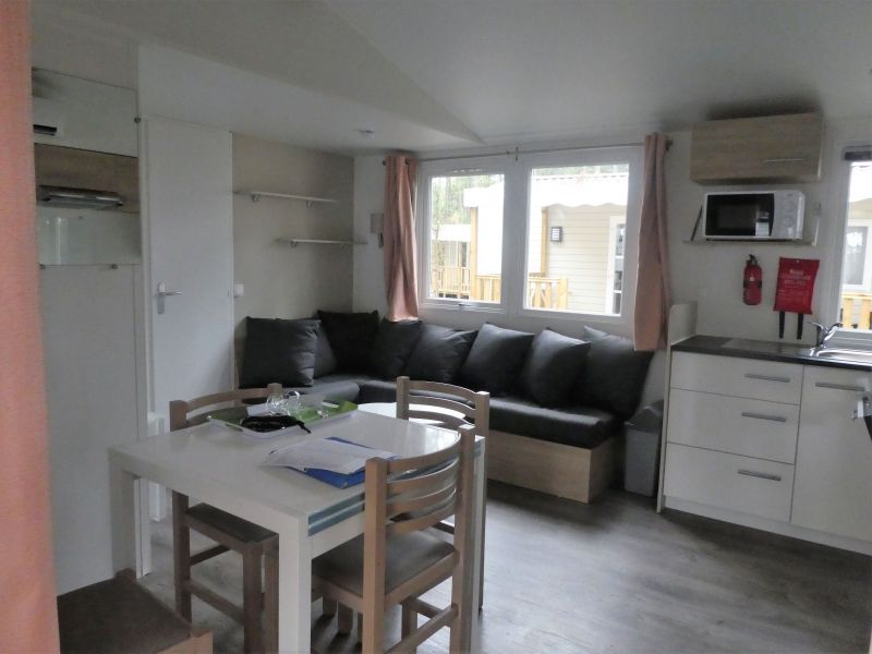 Sitting room Location Mobile home 117792 Saint-Julien-en-Born
