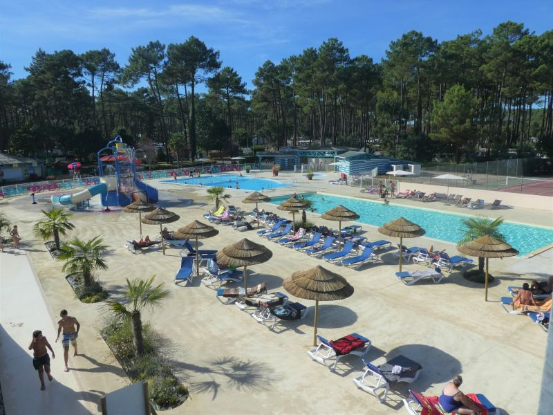 Swimming pool Location Mobile home 117792 Saint-Julien-en-Born