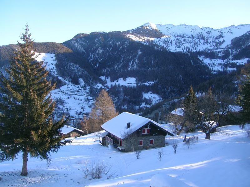 View from terrace Location Apartment 74081 La Tzoumaz