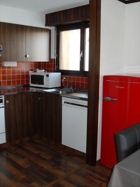 Kitchenette Location Apartment 74081 La Tzoumaz