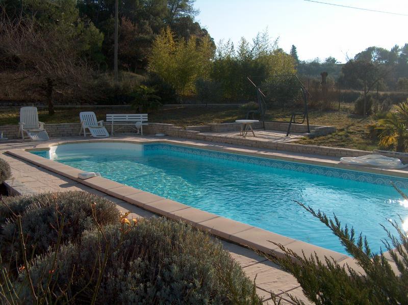 Swimming pool Location Villa 83534 Anduze