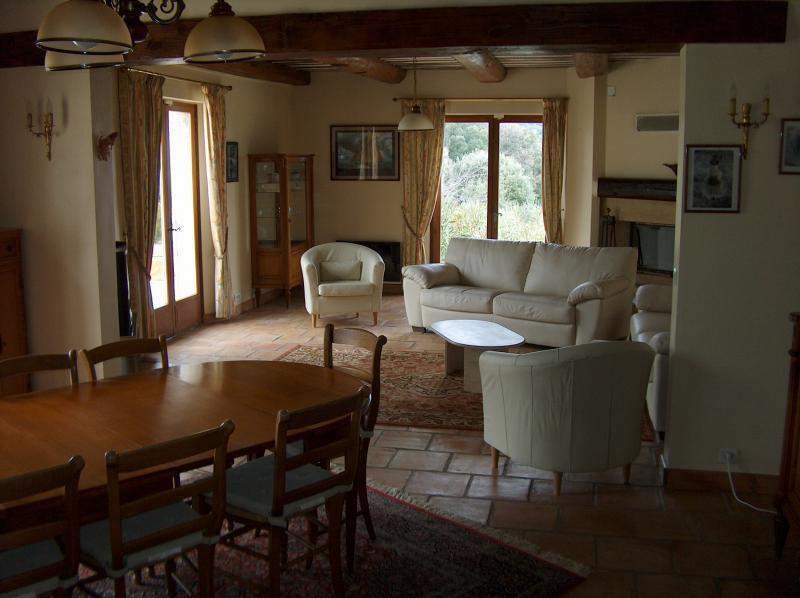 Dining room Location Villa 83534 Anduze