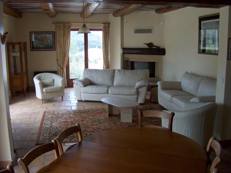 Sitting room Location Villa 83534 Anduze