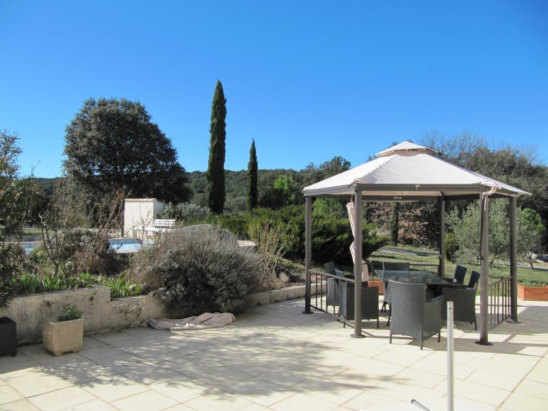 View from terrace Location Villa 83534 Anduze
