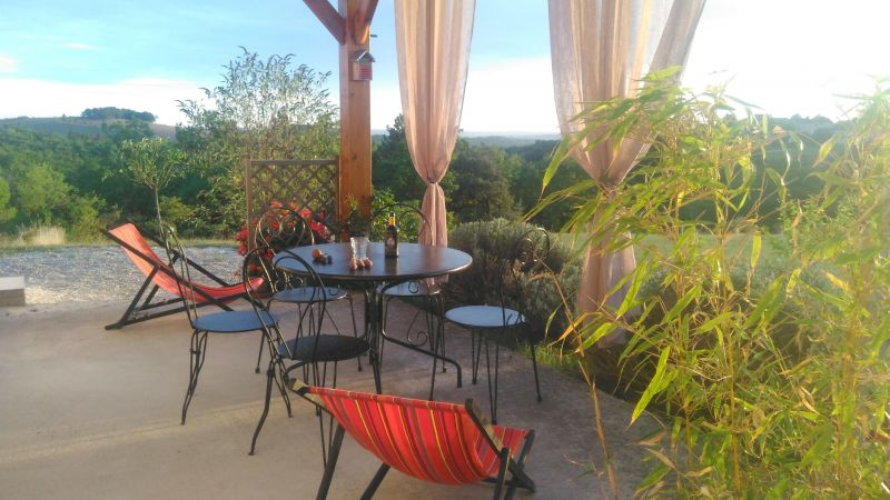 View from terrace Location House 83784 Salignac-Eyvignes