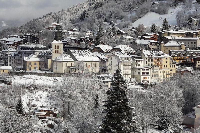View from terrace Location Apartment 90917 Saint Gervais Mont-Blanc