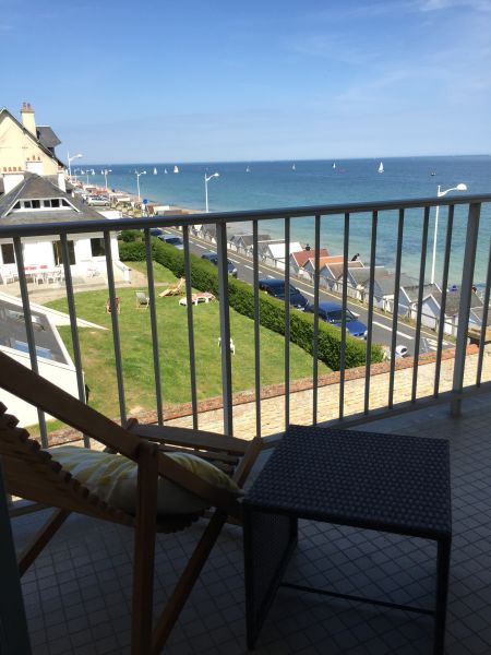 View from the balcony Location Apartment 92826 Luc sur Mer
