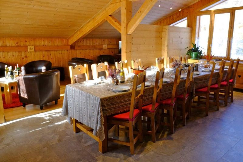 Dining room Location Chalet 93861 Les 2 Alpes