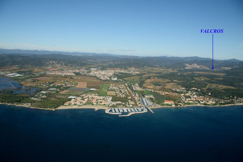 Area map Location House 100590 La Londe les Maures