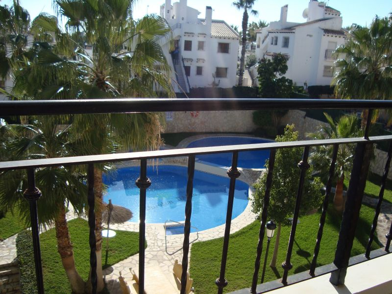 View from the balcony Location Apartment 102345 Torrevieja