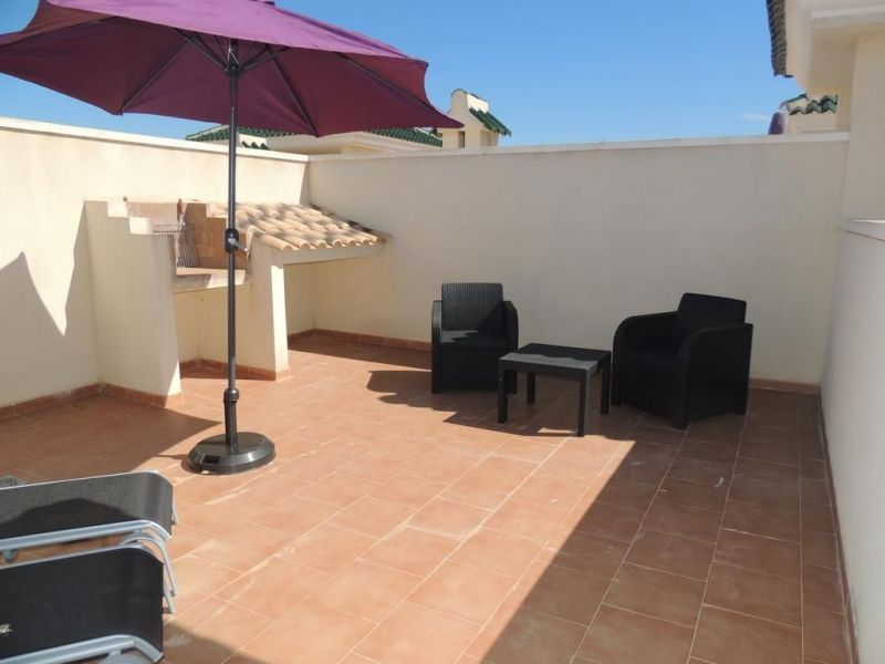 View from terrace Location Apartment 102345 Torrevieja