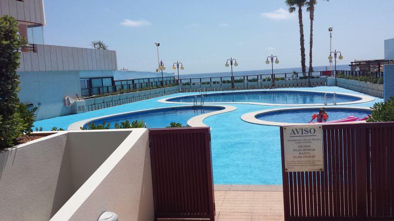 Swimming pool Location Apartment 103401 Calpe