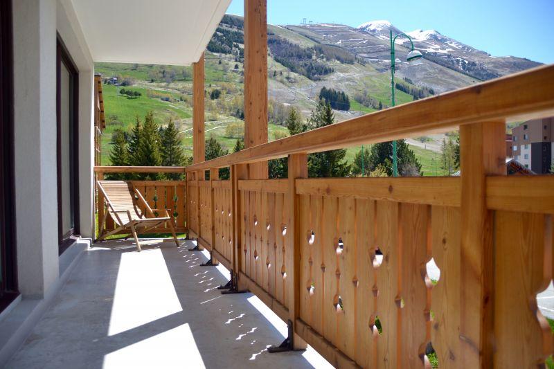 Balcony 2 Location Apartment 105180 Les 2 Alpes