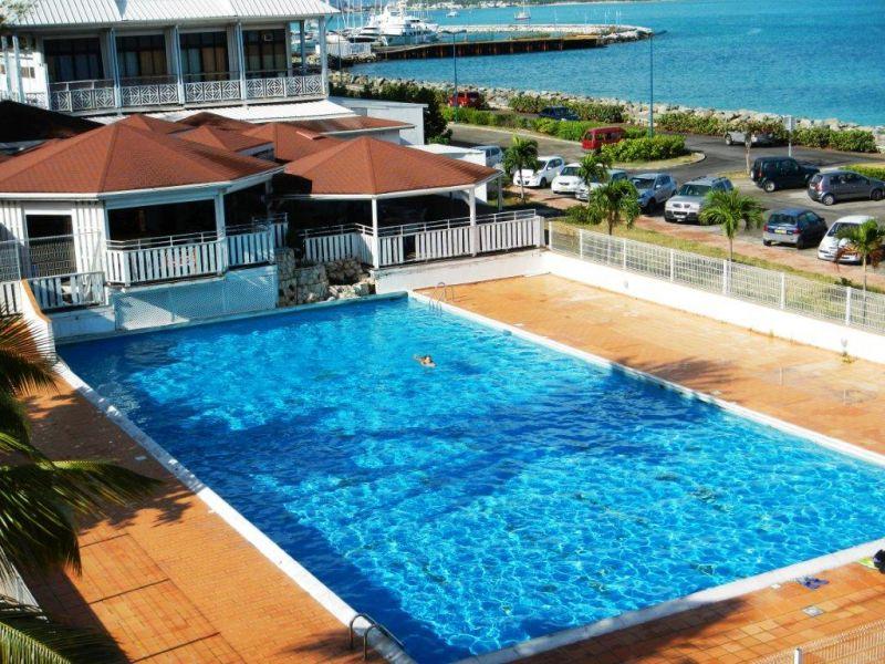 Swimming pool Location Studio apartment 108428 Marigot