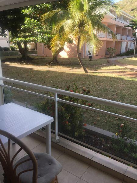 View from the balcony Location Studio apartment 108428 Marigot