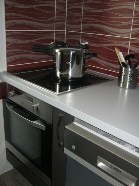 Open-plan kitchen Location Apartment 111139 Cabourg
