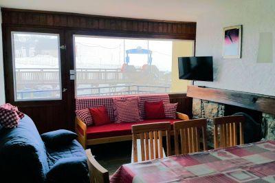 Living room Location Apartment 112252 Saint Lary Soulan