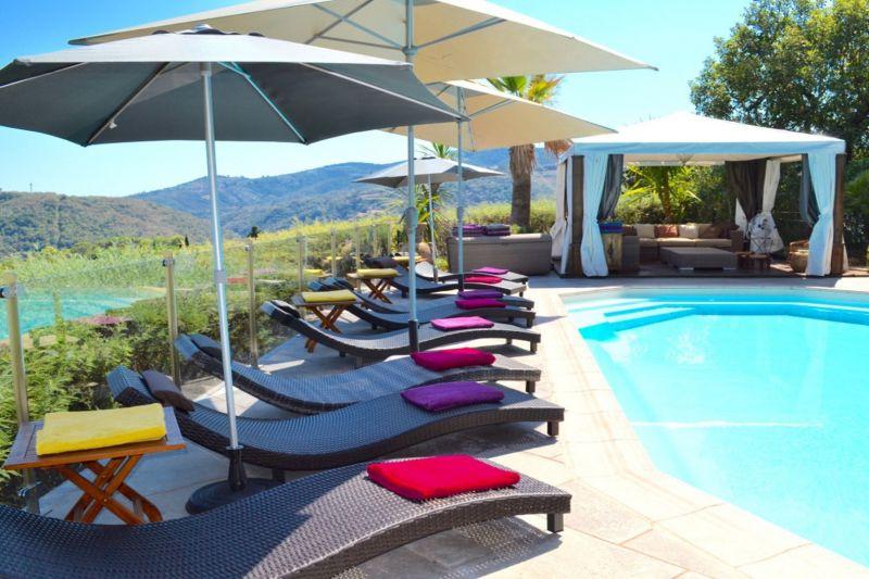 Swimming pool Location Villa 117190 Cannes
