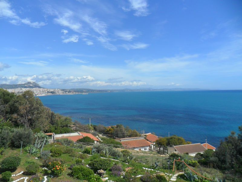 View from terrace Location Apartment 64338 Sciacca