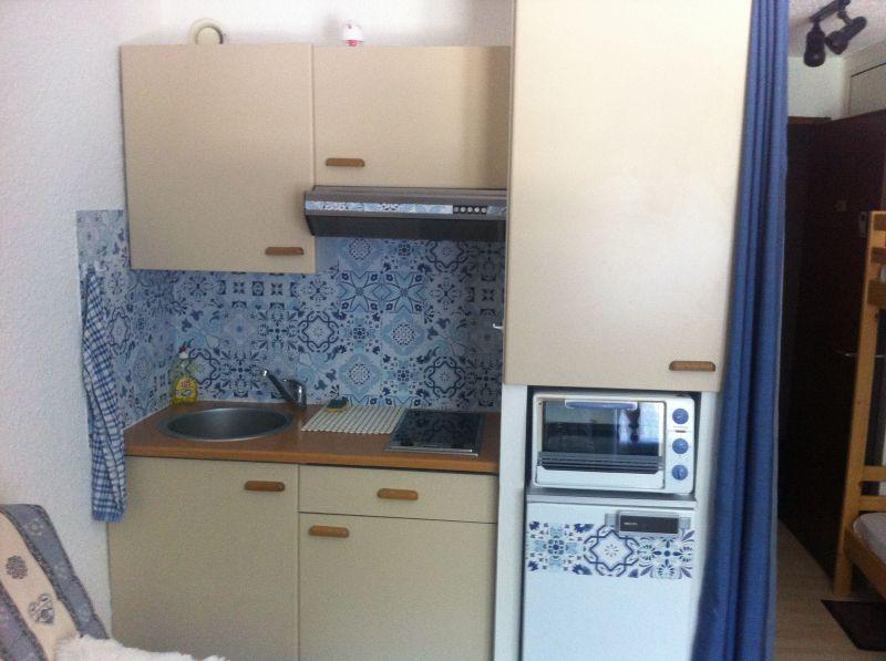 Kitchenette Location Studio apartment 73671 Les Carroz d'Araches