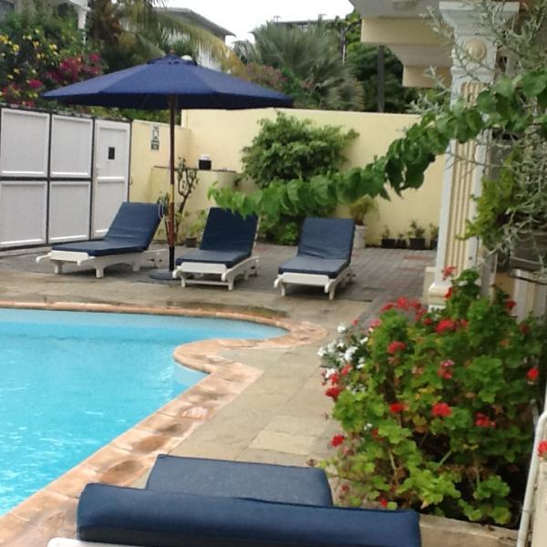 Swimming pool Location Villa 76883 Grand Baie