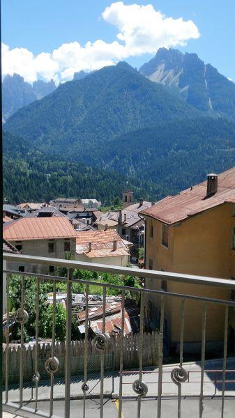View from terrace Location Apartment 85967 Auronzo di Cadore