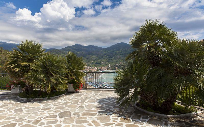 View from terrace Location Villa 100451 Levanto