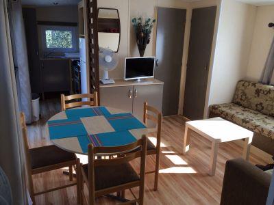 Living Room Location Mobile home 103237 La Palmyre