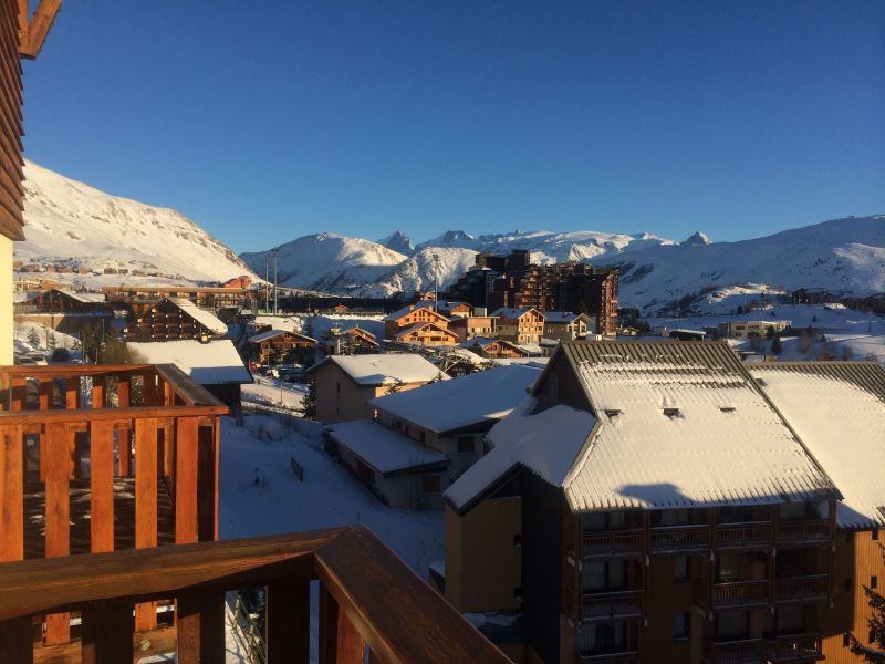 View from the balcony Location Apartment 116707 Alpe d'Huez