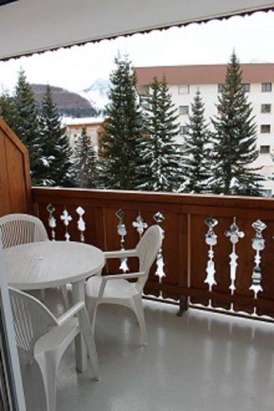Balcony Location Apartment 117414 Les 2 Alpes
