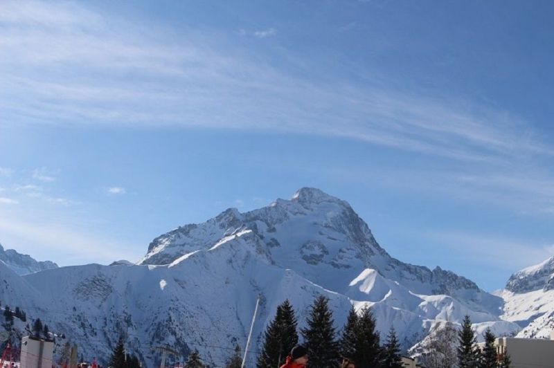 View from terrace Location Apartment 117414 Les 2 Alpes