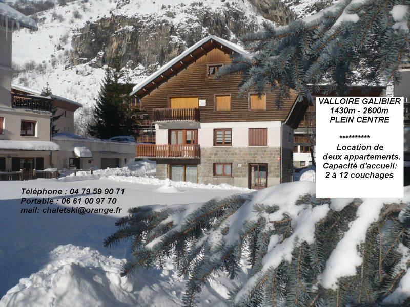 Outside view Location Apartment 88191 Valloire