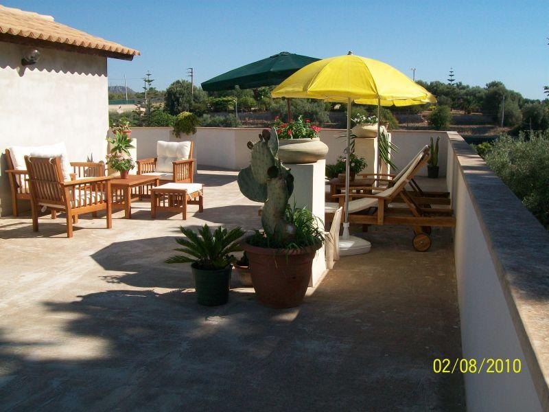 View from terrace Location Villa 94530 Avola