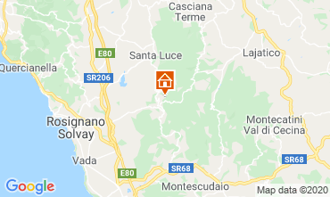 Map Castellina Marittima Self-catering property 43659
