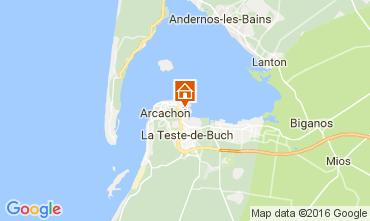 Map Arcachon Apartment 106261