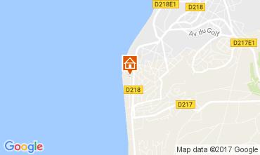 Map Pyla sur Mer Apartment 109889