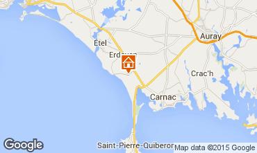 Map Erdeven House 93248