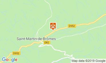 Map Gréoux Les Bains Self-catering property 111014