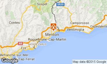 Map Menton Apartment 86464