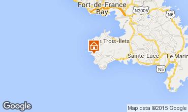 Map Anses d'Arlet Apartment 27269