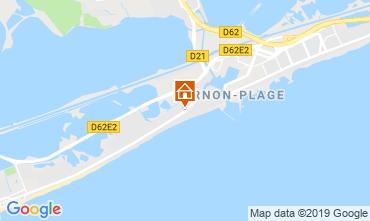Map Palavas-les-Flots Flat 97096