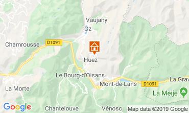Map Alpe d'Huez Apartment 117395