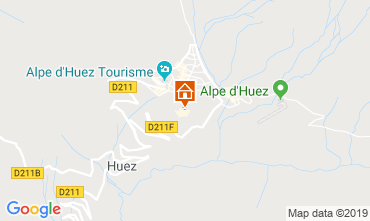 Map Alpe d'Huez Apartment 117395