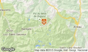 Map La Mongie Apartment 50729