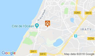 Map Biarritz Apartment 98622