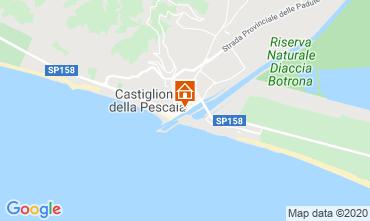 Map Castiglione della Pescaia Apartment 59949