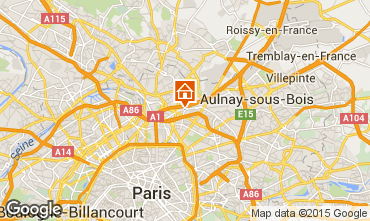 Map PARIS Apartment 72652