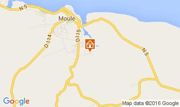 Map Le Moule Villa 100796